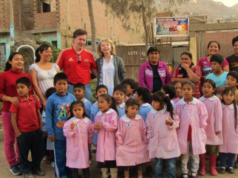 MK and MP with children-Lima