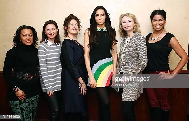Maura with Benton Film Festival team at screening